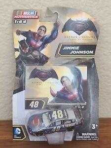 G 2016 Batman v. Superman Wave Jimmie Johnson Lowes 1 of 2 1/64 NASCAR Authentic