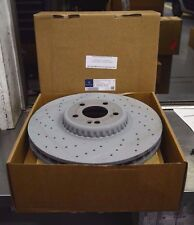 OEM GENUINE MERCEDES BENZ FRONT BRAKE ROTORS X2 FOR W205 C450 C43 AMG