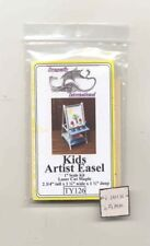 Kit - Kids Artist Easel   TY126  dollhouse furniture Dragonfly 1/12 scale wood
