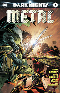 Dark Nights Metal #4 (2017), Andy Kubert Variant DC Snyder Capullo Wonder Woman