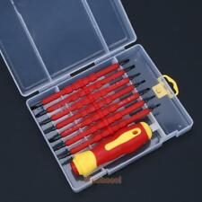 15PCS Set Screwdriver Hot Insulated Accessory Tools Electrical Hand Electrican