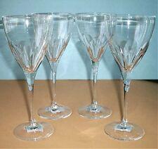 Vera Wang by Wedgwood CABOCHON SET/4 Iced Beverage Glasses 12oz Germany NEW
