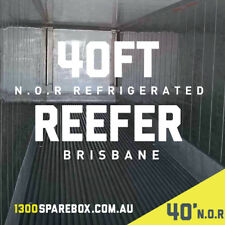 40FT HIGH CUBE    N.O.R - Refrigerated shipping container storage -  Brisbane
