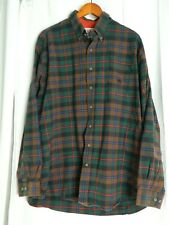 Cinch Western Shirt Men's Long Sleeves Button Up Plaid Check Green XL