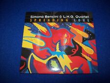 CD-SIMONA BENCINI & L.M.G. QUARTET-SPREADING LOVE-GROOVE MASTER EDITION-2011