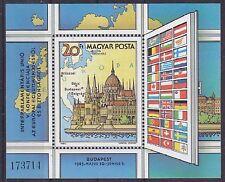 Hungary 1983 Inter-Parliamentary Union Conference MS UM SGMS3493 Cat £4.25