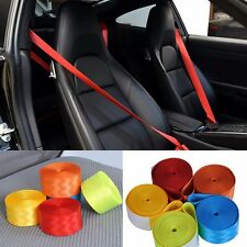 Universal 3 Point Racing Front Safety Retractable Van Car Seat Lap Belt 5 Colors