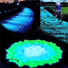 Garden Stone Glow in the Dark Luminous Pebbles Rocks Walkways Lawn Decorations
