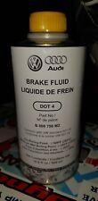 OEM NEW VW Volkswagen Audi Brake Fluid DOT 4 16.9 FL OZ 500 ML B000750M2 GENUINE