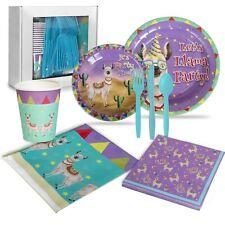 Llama Birthday Party Supplies (16 Guests)
