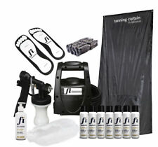 TS20 HVLP professional spray tanning kit curtain solution & consumables