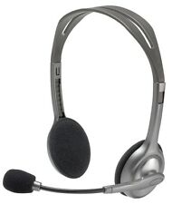 Logitech H110/H111 3.5 mm Noise Cancelling Headset With Mic Gaming for PC MAC