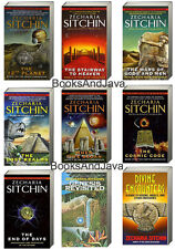 EARTH CHRONICLES 9 Vol Set Zecharia Sitchin 12TH PLANET,STAIRWAY TO HEAVEN ++NEW