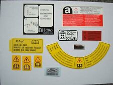 Ford Sierra Sapphire Cosworth 2WD Sous Capot Moteur/Engine Bay decals