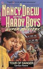 Tour of Danger. Unread Condition. 1 St.Ed. Nancy Drew & Hardy Boys Super Mystery
