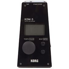 Korg Kdm-3 Metronome, Black - Authorized Dealer!