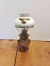 "NORLEANS Americana 10"" Small Oil Lamp Japan Imperfect"