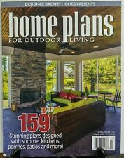 Home Plans For Outdoor Living Aug Sept 2016 159 Stunning Plans FREE SHIPPING sb