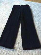 Men's John Varvatos Collection Pants Black Velvet  32 X 29.  Made in Italy.