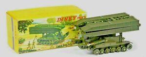 Very Rare French Dinky 883 AMX Bridge-Layer, Char Poseur De Pont & Original Box