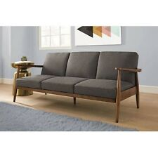 Futon Sofa Bed Convertible Sleeper Mid Century Couch Small Spaces Furniture Sale