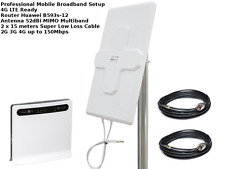 MIMO Mobile Broadband Antenna Booster Huawei B593 LTE 4G 150MBPS 52dbi 15M