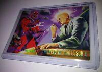 MAGNETO VS. PROFESSOR, X Fleer Ultra X-Men 1994 Marvel Comics BASE Card #133 9.4