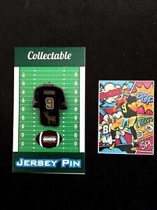 New Orleans Saints Drew Brees lapel pin/vinyl sticker-Collectibles