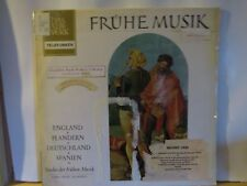FRUHE MUSIK OF ENGLAND FLANDERN DEUTSCHLAND SPANIEN EARLY MUSIC QUARTETT NM VINY