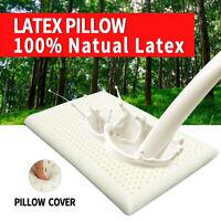 1 Pcs Natural Latex Standard Memory Foam Pillow Neck Health 100% Natural Latex
