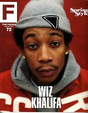 The Fader Magazine Issue 72 February/March 2011 Wiz Khalifa James Blake