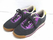 Reebok gray purple Suede Classic Casual Shoes Size 8 N Womens