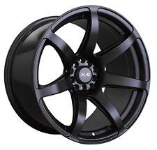 XXR 560 18x10 Rims 5x100/114.3 +20 Black Wheels (Set of 4)