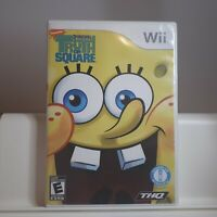 SpongeBob's Truth or Square - Nintendo Wii Authentic/Cleaned/Tested