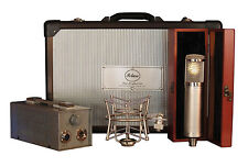 New Peluso 22 251 Vacuum Tube Microphone System Mic w/PSU, Case, Shockmount