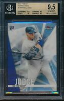 2017 Topps Finest Aaron Judge Refractor BGS 9.5 Gem Mint RC Card #2 Rookie NYY