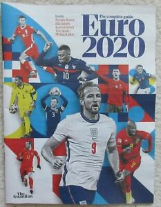 Euro 2020 – The Complete Guide – 72 page guide - The Guardian NEW