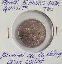 MONNAIE DE 5 FRANCS 1982