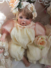 "PORCELAIN BABY/TODDLER - ""PETAL"" -19"" length - Orig. $129.95 - Quality & Mint!"