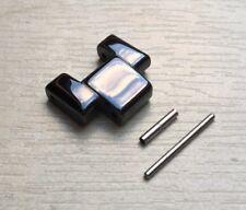 Nero Ceramica LINK si adatta Emporio Armani cinturino AR1401/AR1402/AR1411/AR1412/AR1407