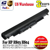 Laptop Battery for HP HS04 HS03 807956-001 807957-001 807612-421 807611-221