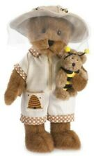 Boyds Plush 10 in Bear and Bee Honey with Bumble, New with Tag, Retired, 4041809