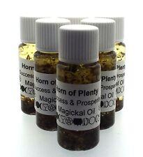 Horn of Plenty Herbal Infused Botanical Incense Oil