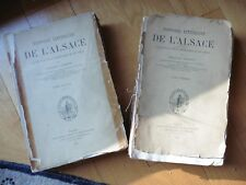 Histoire littéraire de l'Alsace  Schmidt Brant Murner Wimpheling Geiler