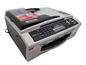 Brother MFC-240C All-In-One Inkjet Printer Scanner Fax Copier w/ New Ink!
