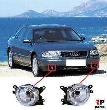 FOR AUDI A8 2000 - 2002, A4 1999 - 2001 NEW FRONT BUMPER FOGLIGHT LAMP PAIR SET