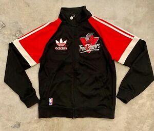 vintage Trail Blazers jacket warm up adidas M GREAT condition Portland