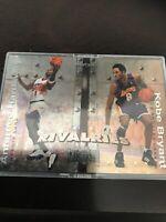 Fleer Slybox Metal Kobe Bryant Anfernee Hardaway Base Insert Lakers Suns 2000
