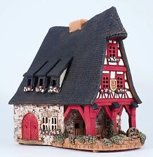 Ceramic house tea light holder 'Old Smithery in Rothenburg', 21 cm, © Midene