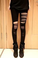 Fantasy Getting RIPPED LEGGING COLLANTS LOOK Destroyed LOOK 34 36 punk gothique